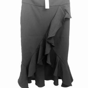 Long Spanish style black skirt - never worn